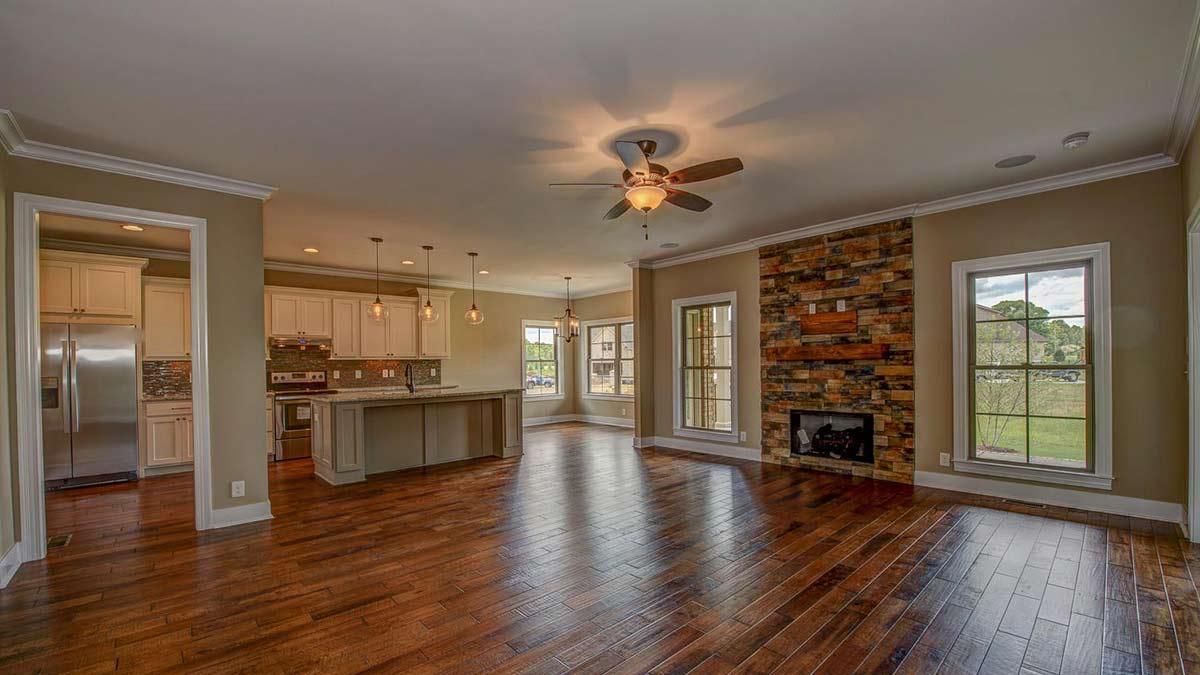 The Maples_beautiful hardwood floors